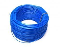 Robotistan - 100 Meter Single Core Mountage Cable - Blue