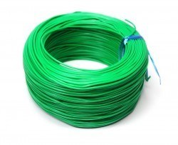 Robotistan - 100 Meter Single Core Mountage Cable - Green