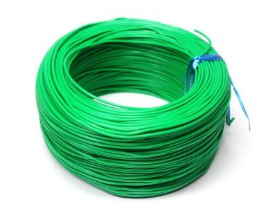 100 Meter Single Core Mountage Cable - Green