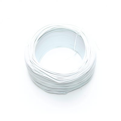 100 Meter Single Core Mountage Cable - White