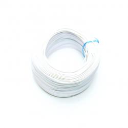 Robotistan - 100 Metre Çok Damarlı Montaj Kablosu 24 AWG - Beyaz
