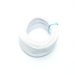 100 Metre Çok Damarlı Montaj Kablosu 24 AWG - Beyaz - Thumbnail