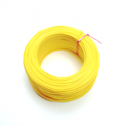 100 Metre Tek Damarlı Montaj Kablosu 24 AWG - Sarı - Thumbnail