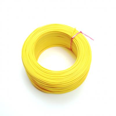 100 Metre Tek Damarlı Montaj Kablosu 24 AWG - Sarı