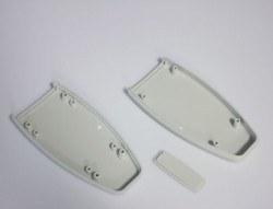 100 x 50 x 18 mm El Tipi Kutu - HH-066 (Açık Gri) - Thumbnail