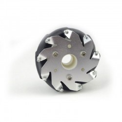 100mm Aluminum Mecanum Wheel Set (2 right and 2 left) - Thumbnail