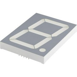 KPM - 100mm Anode Red 7 Segment Display - KPS-401 01BSRND