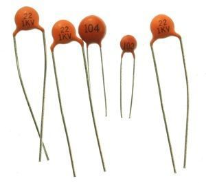 100nF Ceramic Capacitor Package - 10 Units