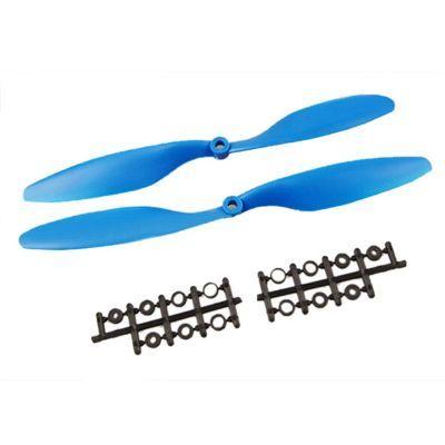 1045 Mavi Plastik CW/CCW Pervane Seti
