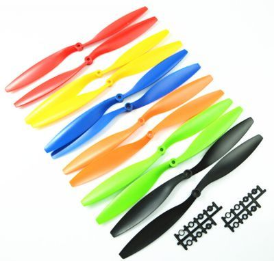 1045 Red Plastic CW/CCW Propeller Set