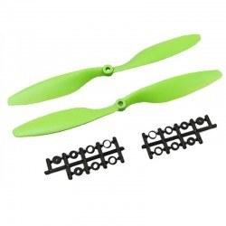 1045 Yeşil Plastik CW/CCW Pervane Seti - Thumbnail