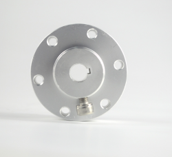 10mm Aluminum Spacer (Hub) with Key 18034 - Thumbnail