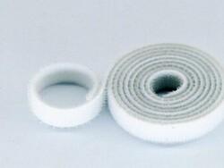 China - 10mm Velkro Bant (Cırt Cırt) - 1 Metre Beyaz