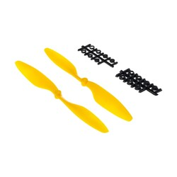 China - 10x 45 Propeller Set - CW & CCW - yellow