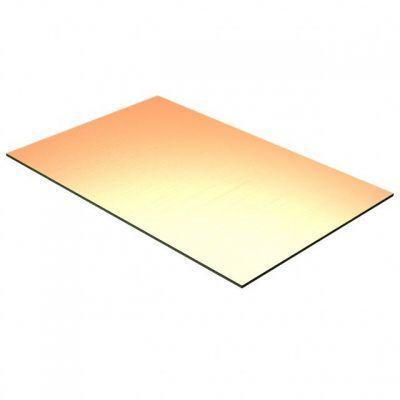 10x10 cm Bakır Plaket - FR2