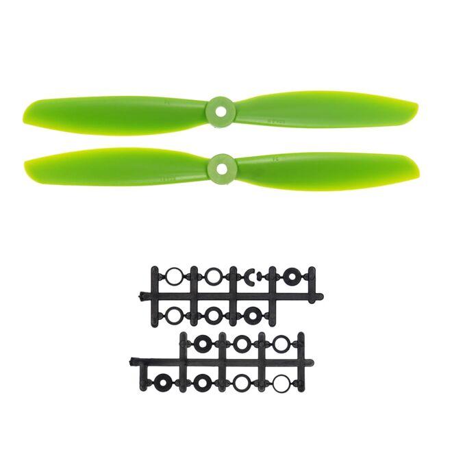 10x4.5 Pervane Seti - CW & CCW - Yeşil