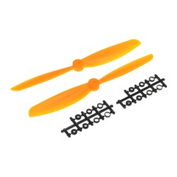 China - 10X4.5 Propeller Set - CW & CCW - Orange