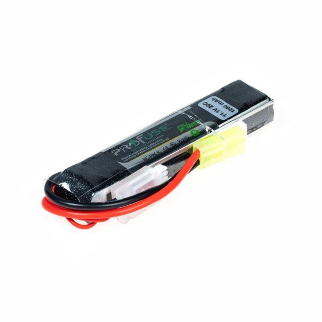 11,1V 3S Airsoft Lipo Batarya 1200mAh 20C - (16x20x106)