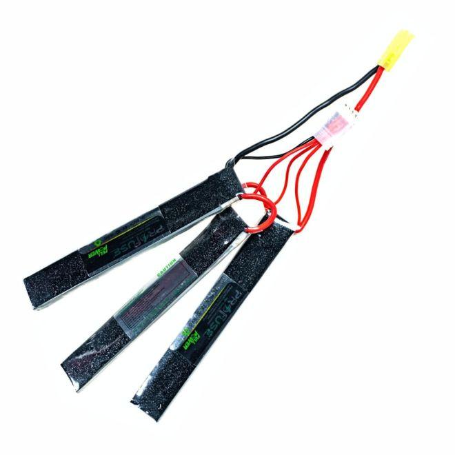 11,1V 3S Airsoft Lipo Batarya 1500mAh 25C - (6x20x130x3)