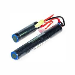 Full Power - 11,1V Airsoft Lipo Battery 1200mAh 25C - (18x65 + 18x130)