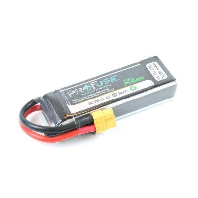 11.1 V 3S Lipo Batarya 2250 mAh 25C