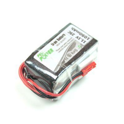 11,1V Lipo Battery 1050mAh 25C