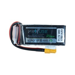 11,1V Lipo Battery 1750mAh 30C - Thumbnail