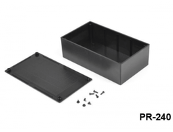 Proje Kutusu - 113 x 197.4 x 63 mm Proje Kutusu (Siyah)