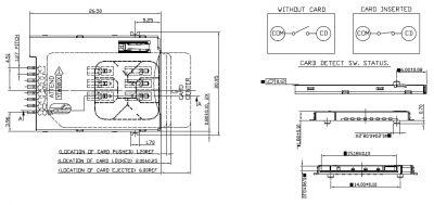 115A-ADA0-R02 - SIM Kart Konnektör