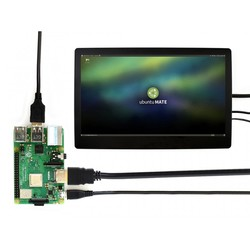WaveShare 11.6 Inch HDMI Kapasitif Dokunmatik LCD (Kutulu - Çoklu Sistem) - 1920x1080 (H) - Thumbnail