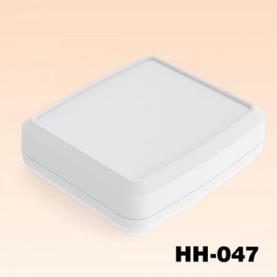 116.5 x 104.5 x 32 mm El Tipi Kutu - HH-047 (Açık Gri)