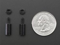 11 mm M2.5 Pirinç Dişi-Erkek Aralayıcı - 2 Adet - Thumbnail