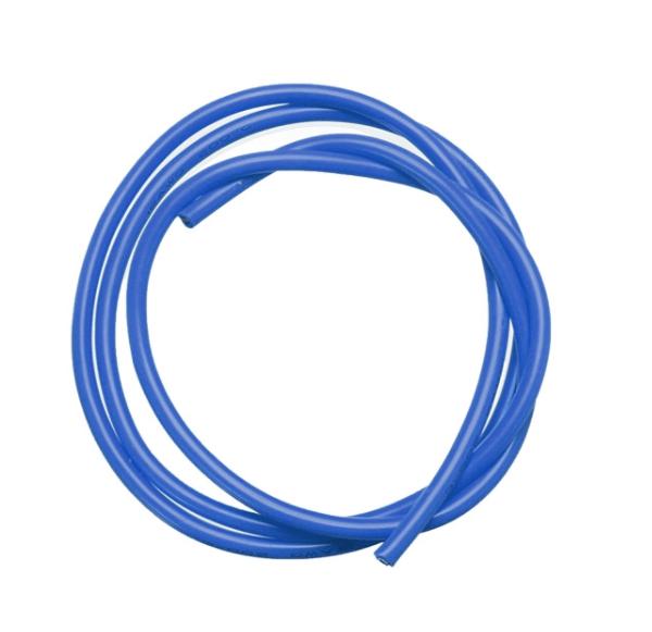 12 AWG 1 Metre Silikon Kablo - Mavi