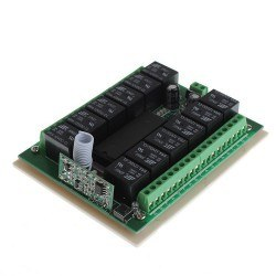 12 Channel 433 MHz Wireless RF Receiver Relay Board - with Box - Thumbnail