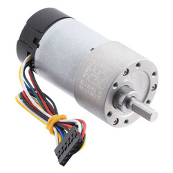 Pololu - 12 V 37 mm 530 RPM Enkoderli 19:1 Redüktörlü DC Motor