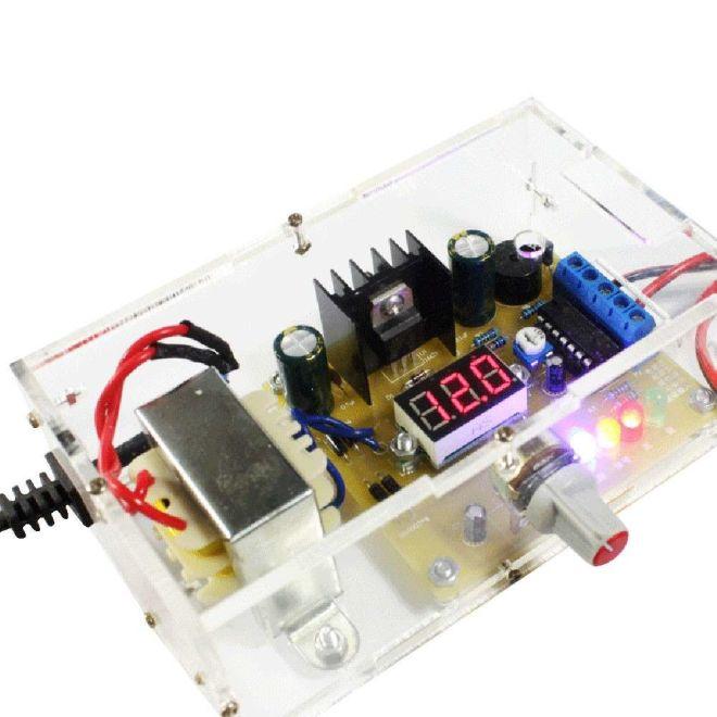 1.25V-12V Adjustable Power Supply - LM317 (Do It Yourself)