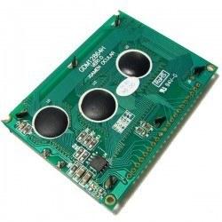 128x64 Grafik LCD, Mavi Üzerine Beyaz - TG12864B-02WA0 - Thumbnail
