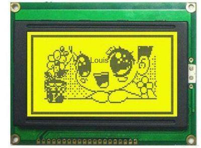 128x64 Grafik LCD, Yeşil Üzerine Siyah - TG12864B-01XA0