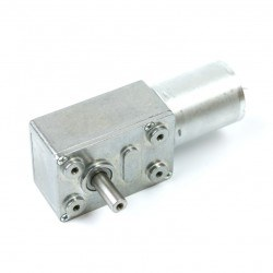 Image of 12V 100Rpm L-type DC Gearbox Motor