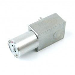 12V 100Rpm L-type DC Gearbox Motor - Thumbnail