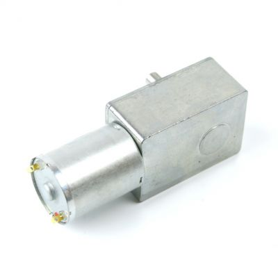 12V 10Rpm L-type DC Gearbox Motor