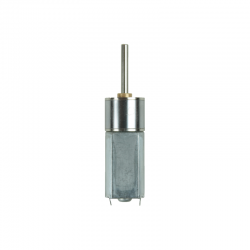 Robotistan - 12 V 16 mm 1000 RPM Redüktörlü DC Motor