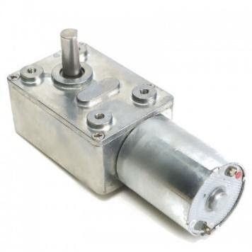12V 18 RPM L Redüktörlü DC Motor