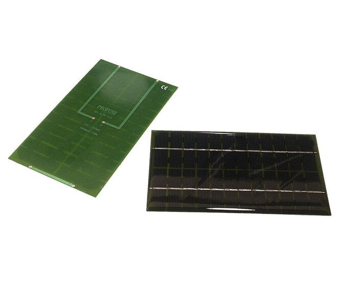 12V 250mA Solar Panel - Güneş Pili