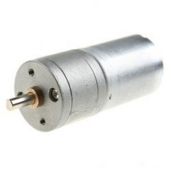 China - 12V 25mm 100Rpm DC Gearbox Motor