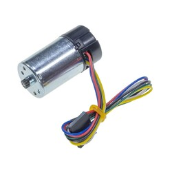 Pololu - 12V 25mm 10,200 Rpm High Powered Gearless DC Motor with Encoder