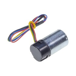 12V 25mm 10,200 Rpm High Powered Gearless DC Motor with Encoder - Thumbnail