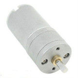 12V 25mm 1030 Rpm High Powered 9.7:1 DC Gearmotor