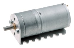 12 V 25 mm 2250 RPM Yüksek Güçlü 4.4:1 Redüktörlü DC Motor - Thumbnail