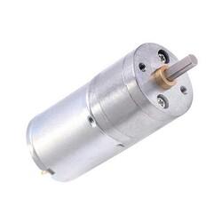 12V 25mm 26 RPM Redüktörlü DC Motor - Thumbnail
